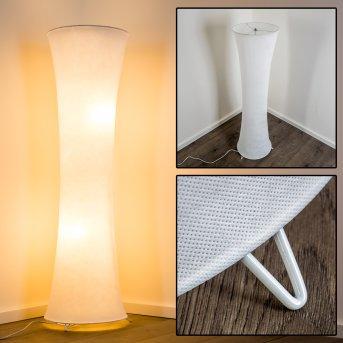 Stehlampe Heron Weiß, 2-flammig