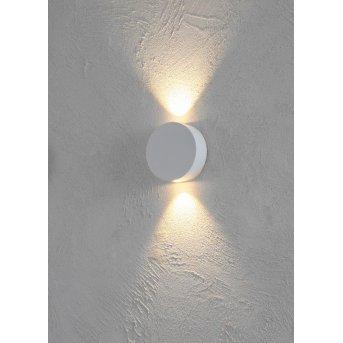 Escale SUN Wandleuchte LED Weiß, 2-flammig