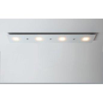 Escale Studio Deckenleuchte LED Weiß, 4-flammig