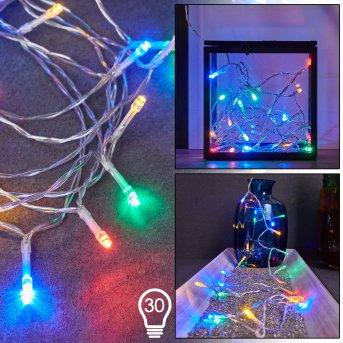 Sondrio Lichterkette LED, 30-flammig