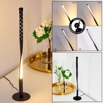 Baotou Tischleuchte LED Schwarz, 1-flammig