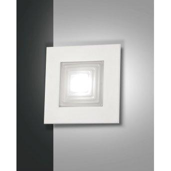Fabas Luce Formia Wandleuchte LED Weiß, 1-flammig