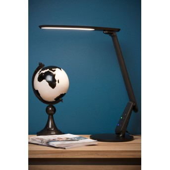 Lucide PRACTICO Schreibtischlampe LED Schwarz, 1-flammig