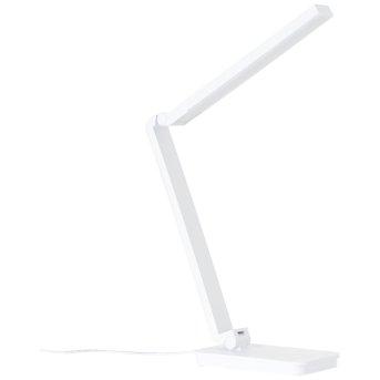 Brilliant Tori Tischleuchte LED Weiß, 1-flammig