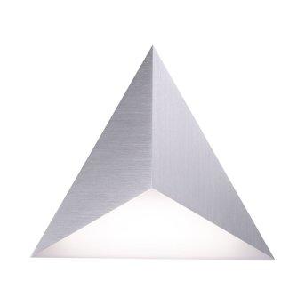 Paul Neuhaus Q-TETRA SATELLIT Wandleuchte LED Nickel-Matt, 1-flammig, Fernbedienung