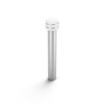 Philips Hue White Tuar Wegeleuchte LED Silber, Edelstahl, 1-flammig