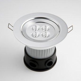Konstsmide Bodeneinbaustrahler LED Aluminium, 4-flammig