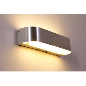 Trio Leuchten ADRIANO Wandleuchte LED Aluminium, 1-flammig