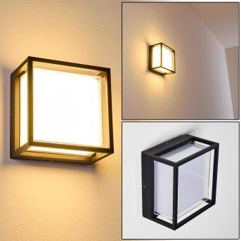 Lysabild Außenwandleuchte LED Schwarz, 1-flammig