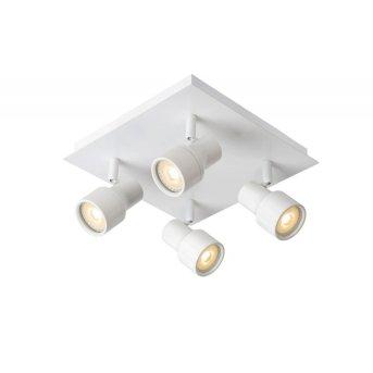 Lucide SIRENE Deckenleuchte LED Weiß, 4-flammig