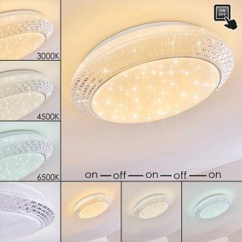 Burton Deckenleuchte LED Weiß, 1-flammig
