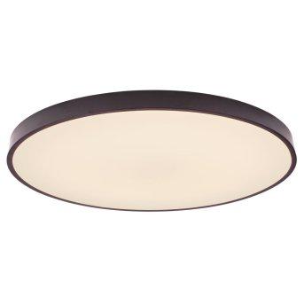 Brilliant Slimline Deckenleuchte Schwarz, Weiß, 1-flammig, Fernbedienung, Farbwechsler