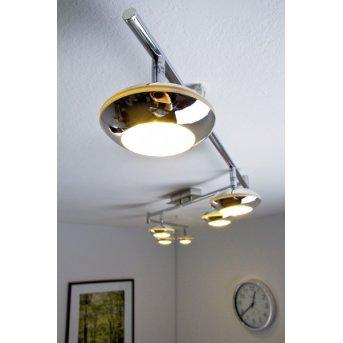 Grosseto Deckenspot LED Chrom, 6-flammig