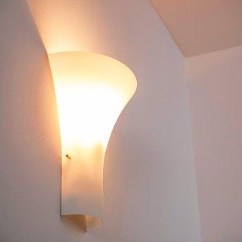 Nerola Wandleuchte Weiß, 1-flammig