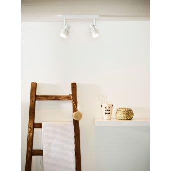 Lucide SIRENE Deckenleuchte LED Weiß, 2-flammig