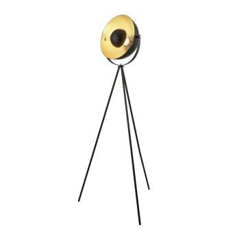 Searchlight BLINK Stehleuchte Chrom, Schwarz, Weiß, Gold, 1-flammig