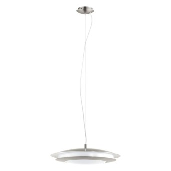 EGLO connect MONEVA-C Hängeleuchte LED Nickel-Matt, 1-flammig, Farbwechsler
