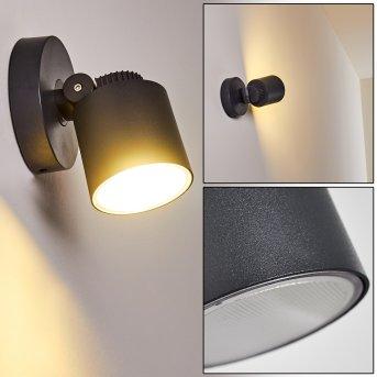 Apenrader Außenwandleuchte LED Anthrazit, 1-flammig