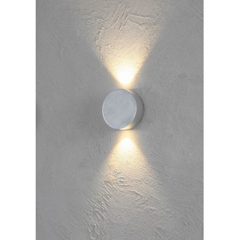 Escale SUN Wandleuchte LED Aluminium, 2-flammig