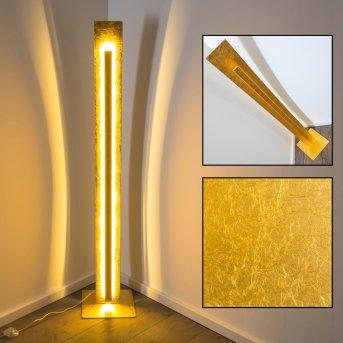 Petrolia Stehleuchte LED Gold, 1-flammig