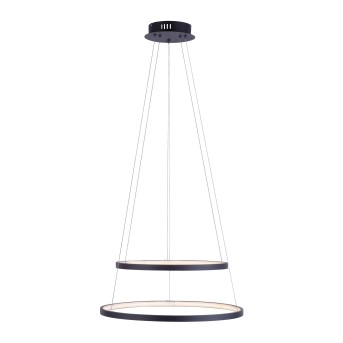 Leuchten Direkt CIRCLE Pendelleuchte LED Anthrazit, 1-flammig