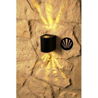 Nordlux CANTO Außenwandleuchte LED Schwarz, 2-flammig